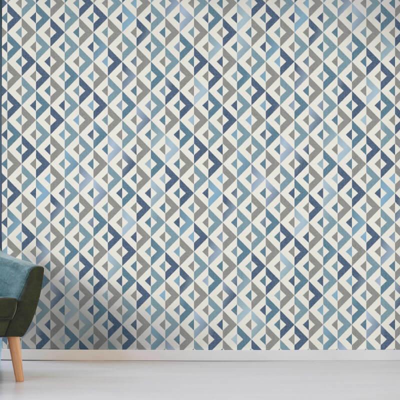 thumbnail 9 - Fine Decor Scandi Geo/Forrest Metallic Finish 10m Wallpaper