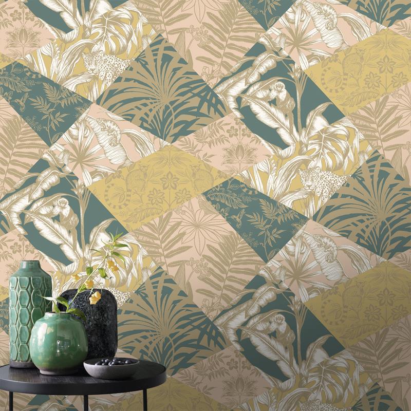 Rasch-Portfolio-Menagerie-Wild-Life-Wallpaper-2-Colours thumbnail 5