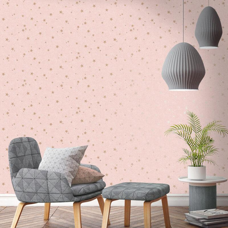 thumbnail 7 - Arthouse-Fine-Decor-Diamond-Stars-Glitter-Wallpaper-10m-6-Colours