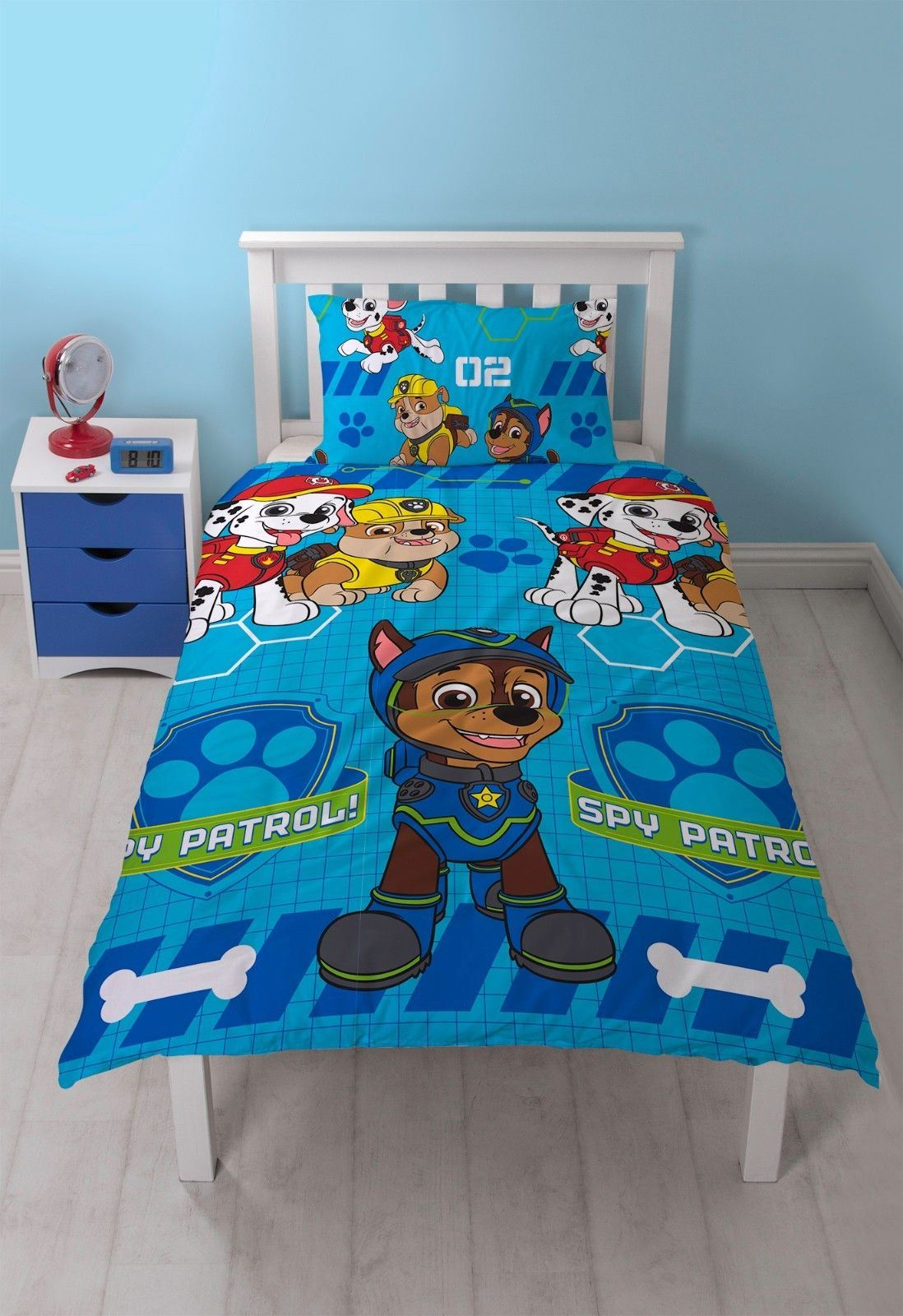 Official-Paw-Patrol-Licensed-Duvet-Covers-Single-Double-Chase-Skye-Marshall thumbnail 36