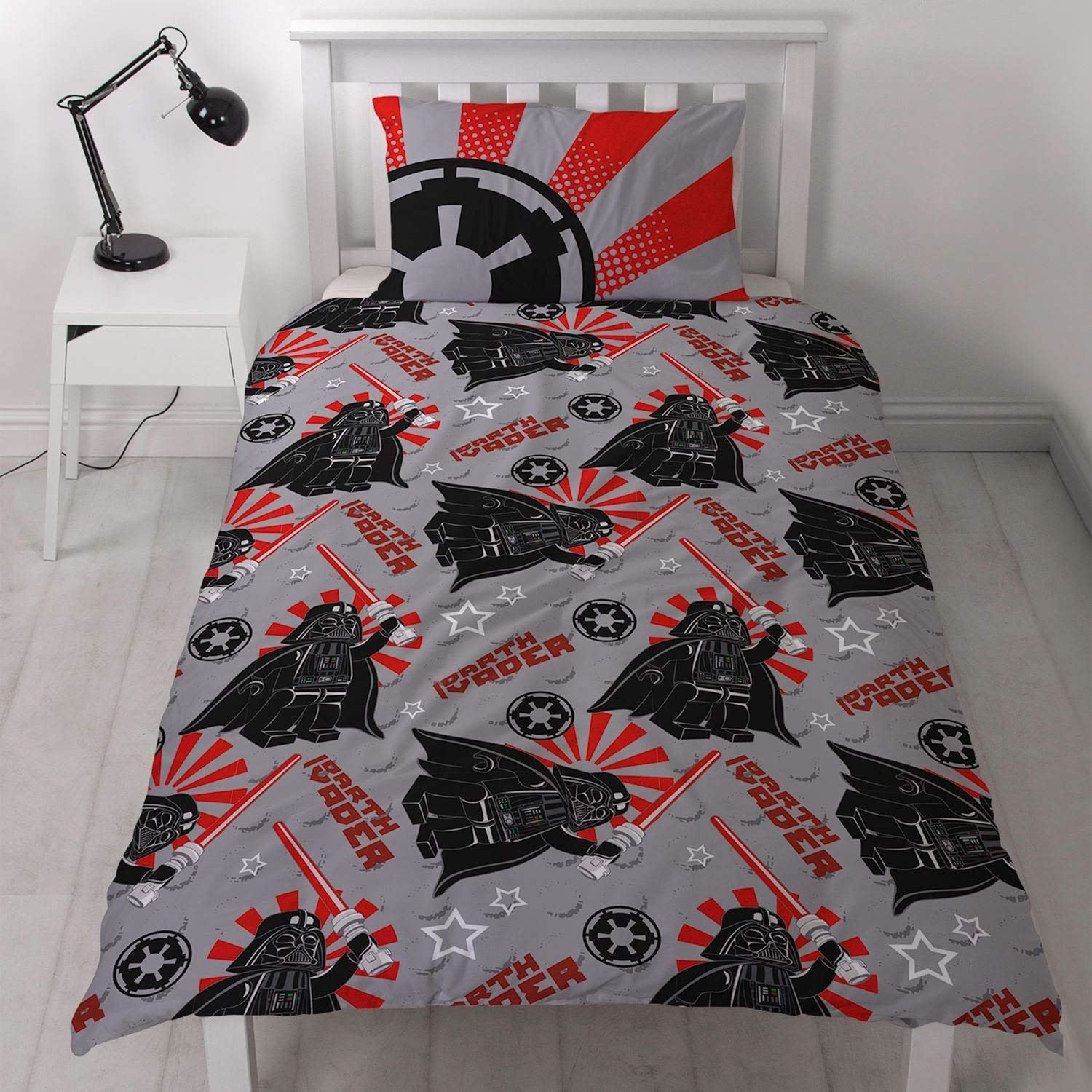 Official-Star-Wars-Licensed-Duvet-Covers-Single-Double-Jedi-Darth-Vader-Lego thumbnail 6