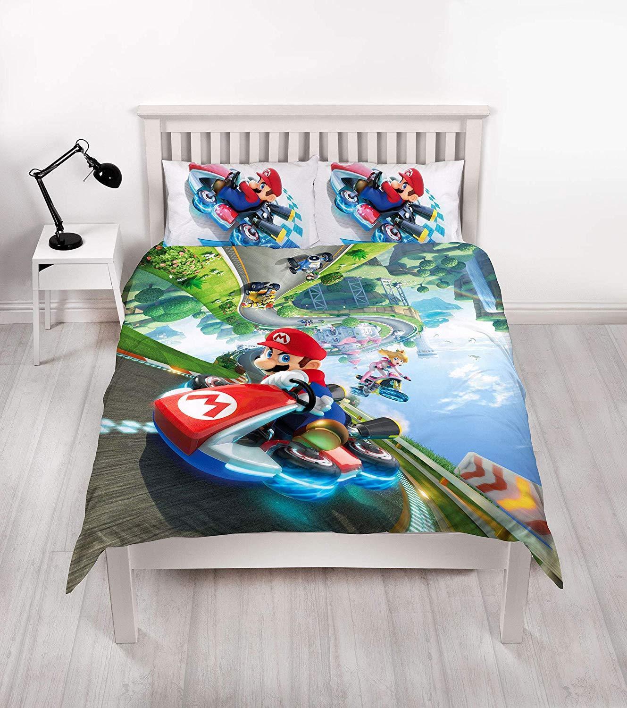 Official-Nintendo-Super-Mario-Licensed-Duvet-Covers-Single-Double-Odyssey-Maker thumbnail 6
