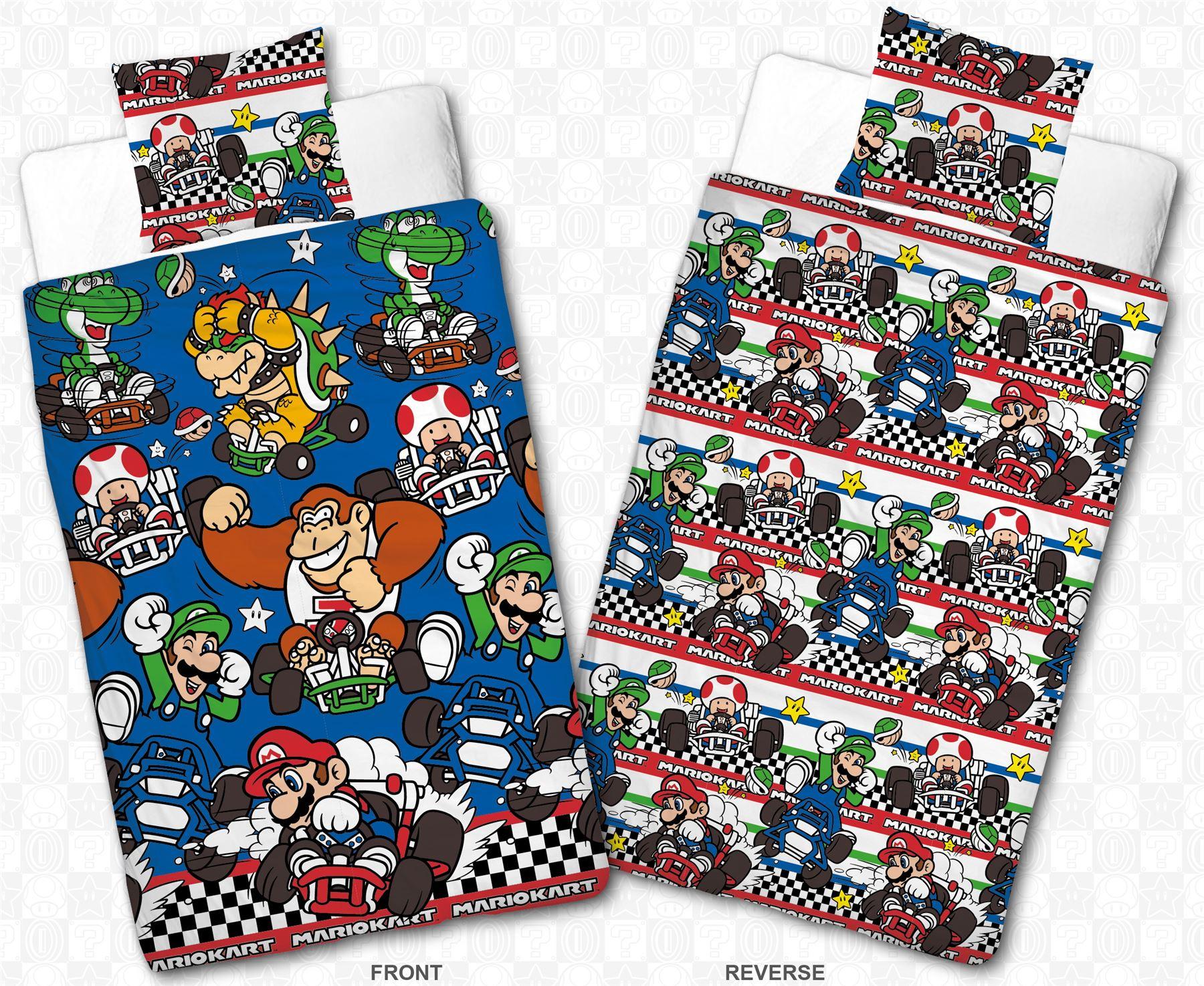Official-Nintendo-Super-Mario-Licensed-Duvet-Covers-Single-Double-Odyssey-Maker thumbnail 30