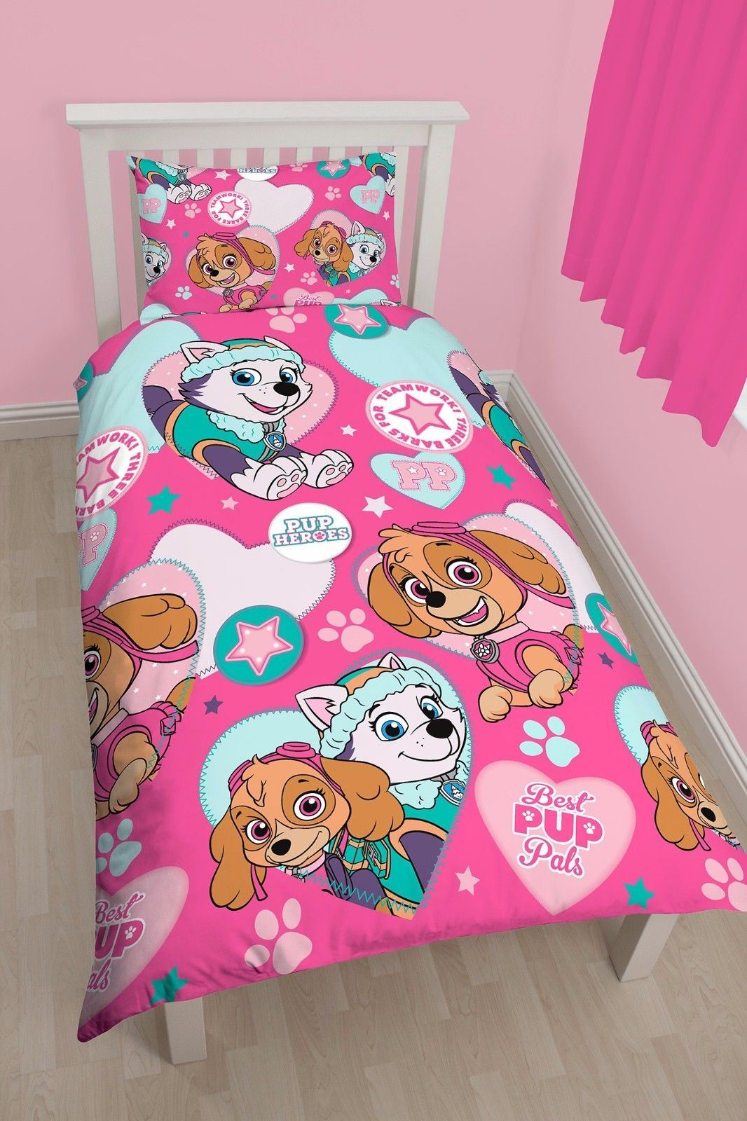 Official-Paw-Patrol-Licensed-Duvet-Covers-Single-Double-Chase-Skye-Marshall thumbnail 17