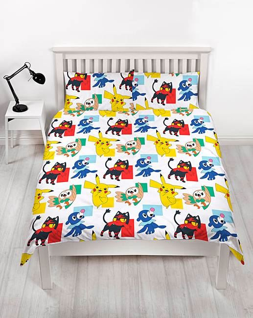 Official-Pokemon-Licensed-Duvet-Covers-Single-Double-Pikachu-Bedding-Gaming thumbnail 27
