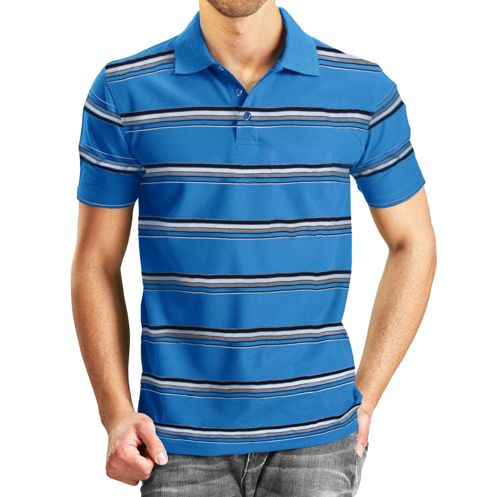 s xxl mens polo tops t shirts short sleeves tees pique collar sports golf tennis. Black Bedroom Furniture Sets. Home Design Ideas