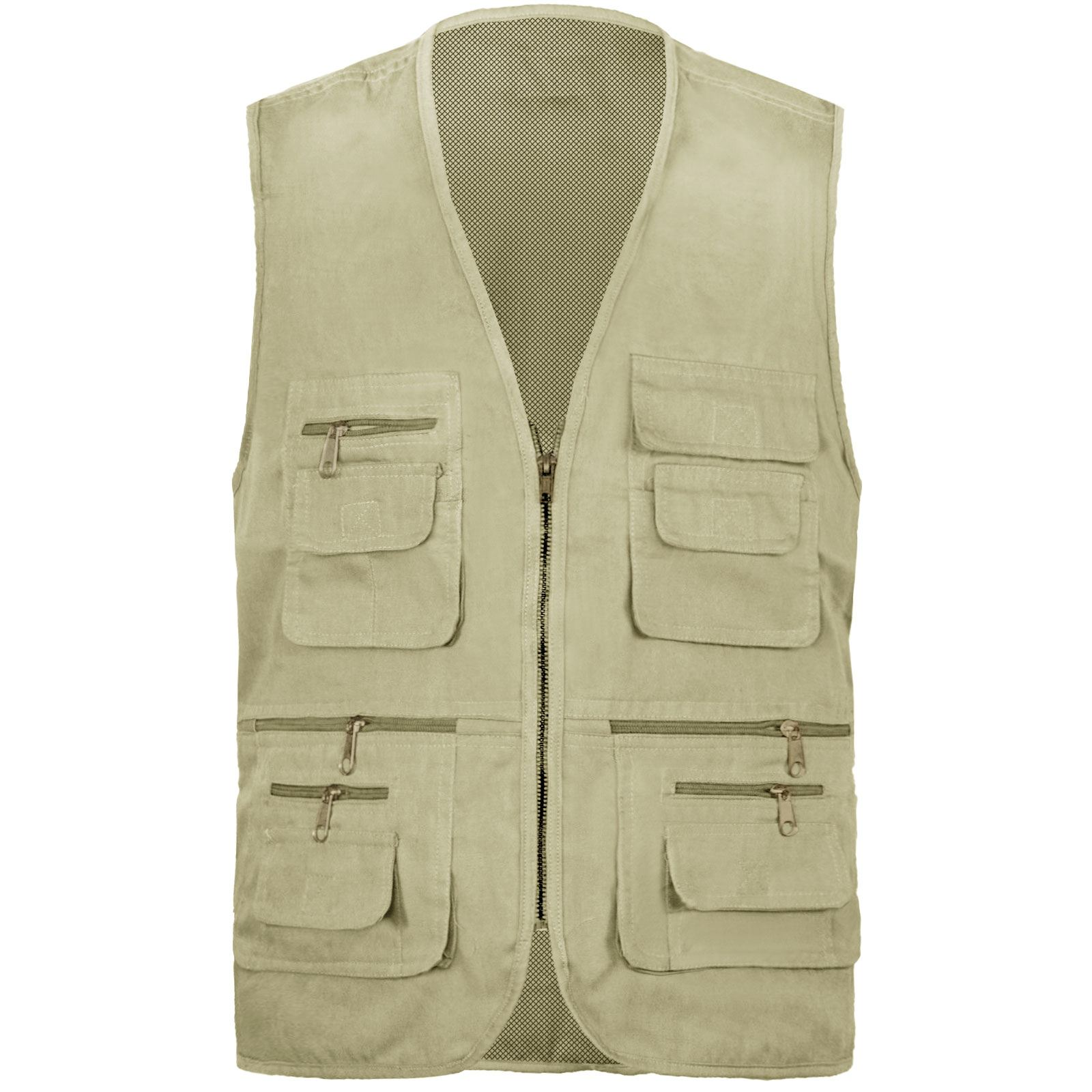 Mens gilet body warmer action waist coat country hunting for Best fishing vest