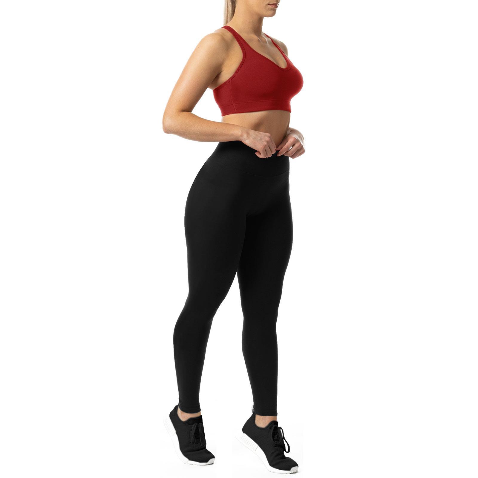 Writtian Pantaloni da yoga da donna,Leggings Donna Fitness Pantaloni Sportivi Yoga Vita Alta Controllo Della Pancia Opaco Elastici Morbido
