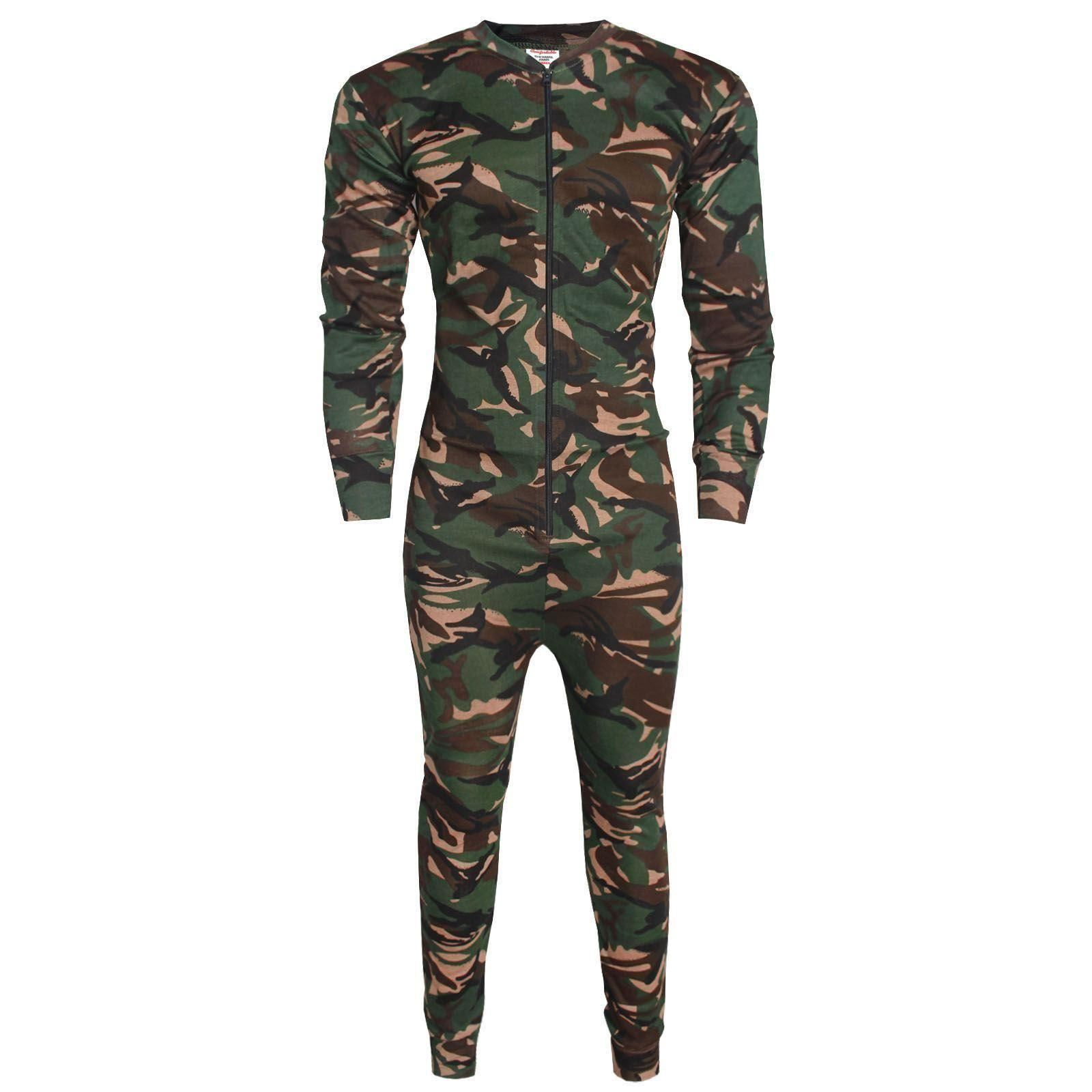 OCTAVE® Mens Thermal Underwear All In One Union Suit / Thermal Body Suit. British designed full body Union Suit. Made from soft fully brushed thermal fabric for extra warmth. Ribbed fabric for added stretch and comfort. Cosy & warm but lightweight thermal material. Featuring two-way/5(34).