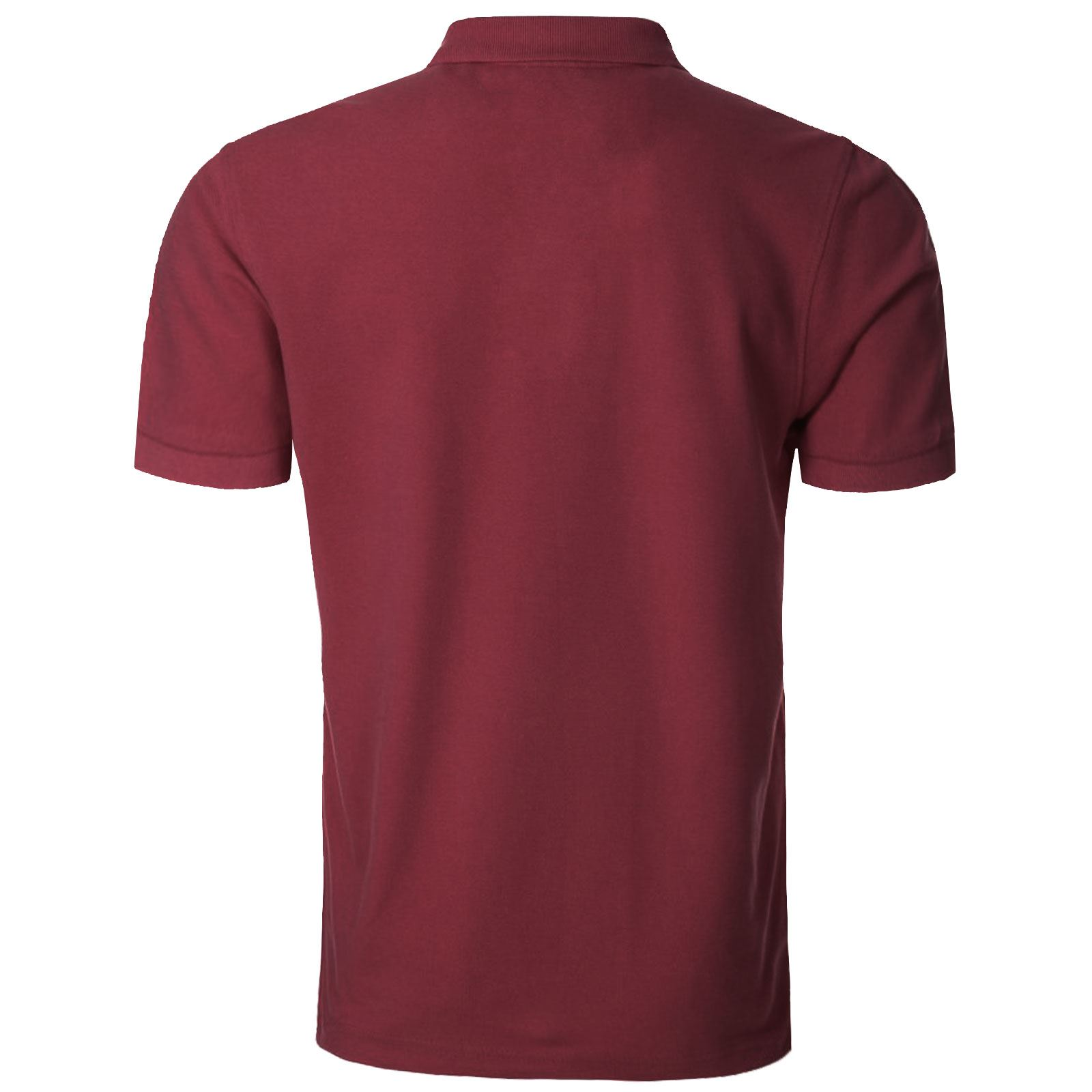 NEW-MENS-POLO-T-SHIRTS-SHORT-SLEEVES-TOP-GOLF-TENNIS-TEES-PIQUE-COLLAR-SPORTS thumbnail 19