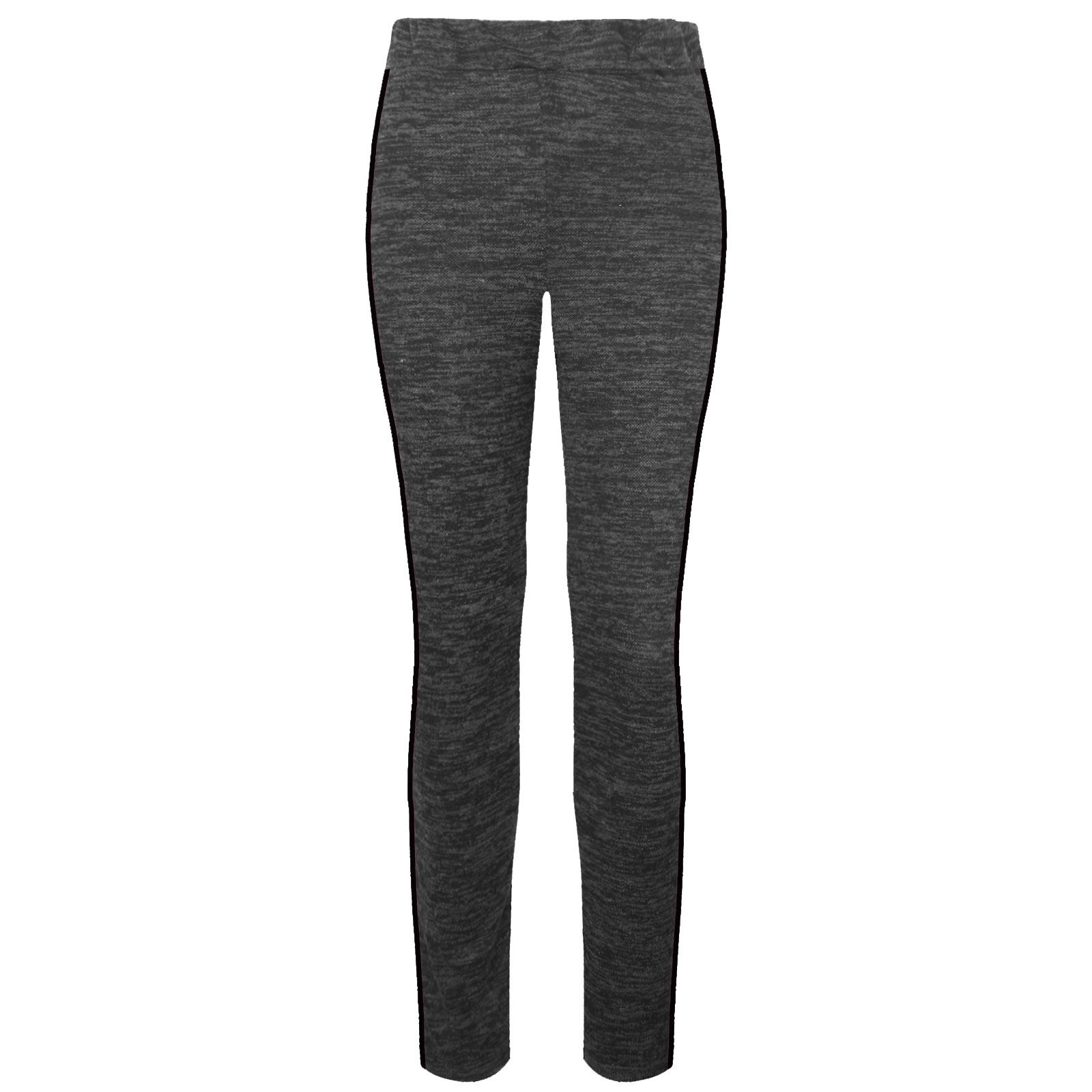 WOMENS-LADIES-SIDE-STRIPE-TAPERED-TROUSERS-JERSEY-PANT-ELASTICATED-WAIST-TROUSER