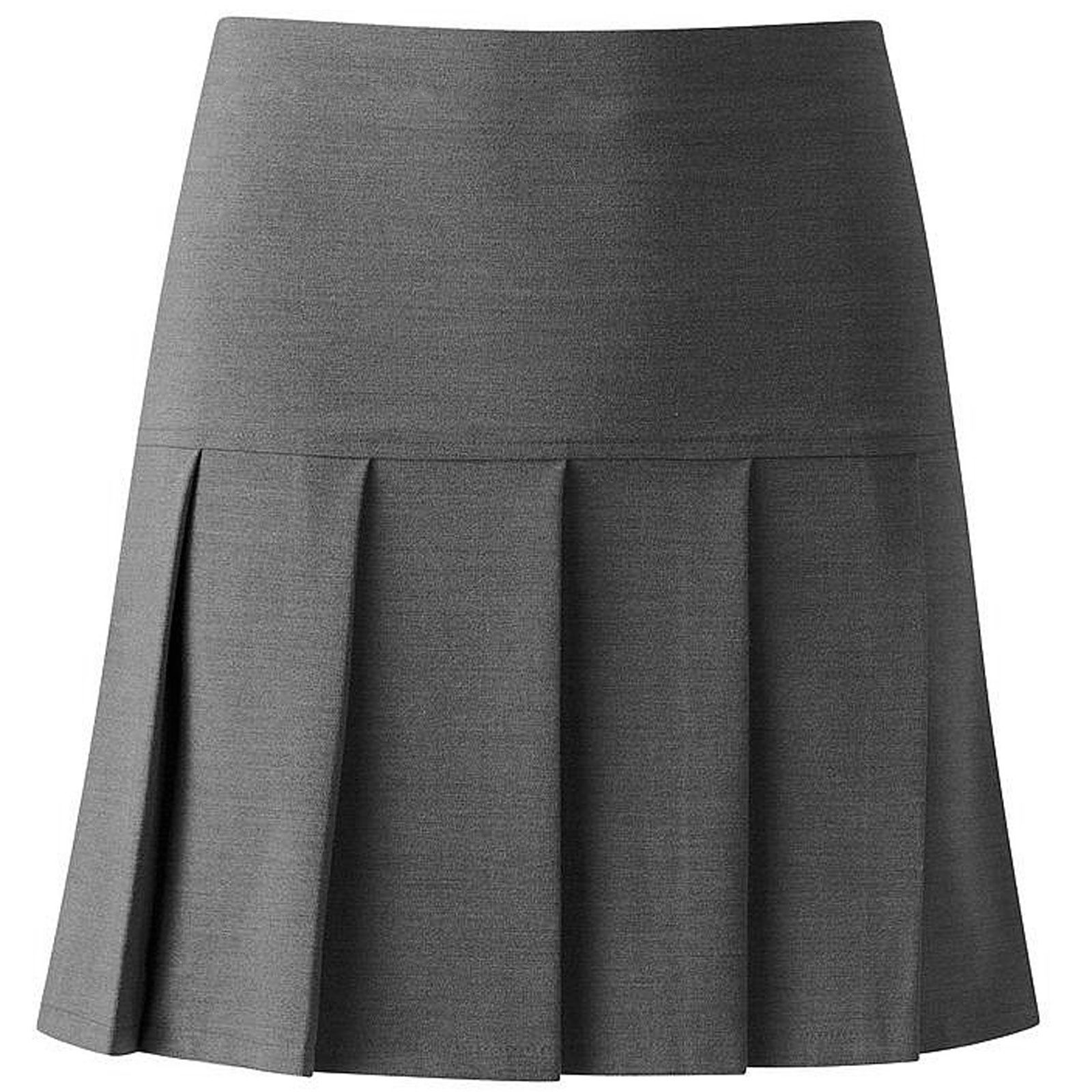 Girls all round pleated drop high waist kids school uniform skirts 5 picture 2 of 2 publicscrutiny Gallery