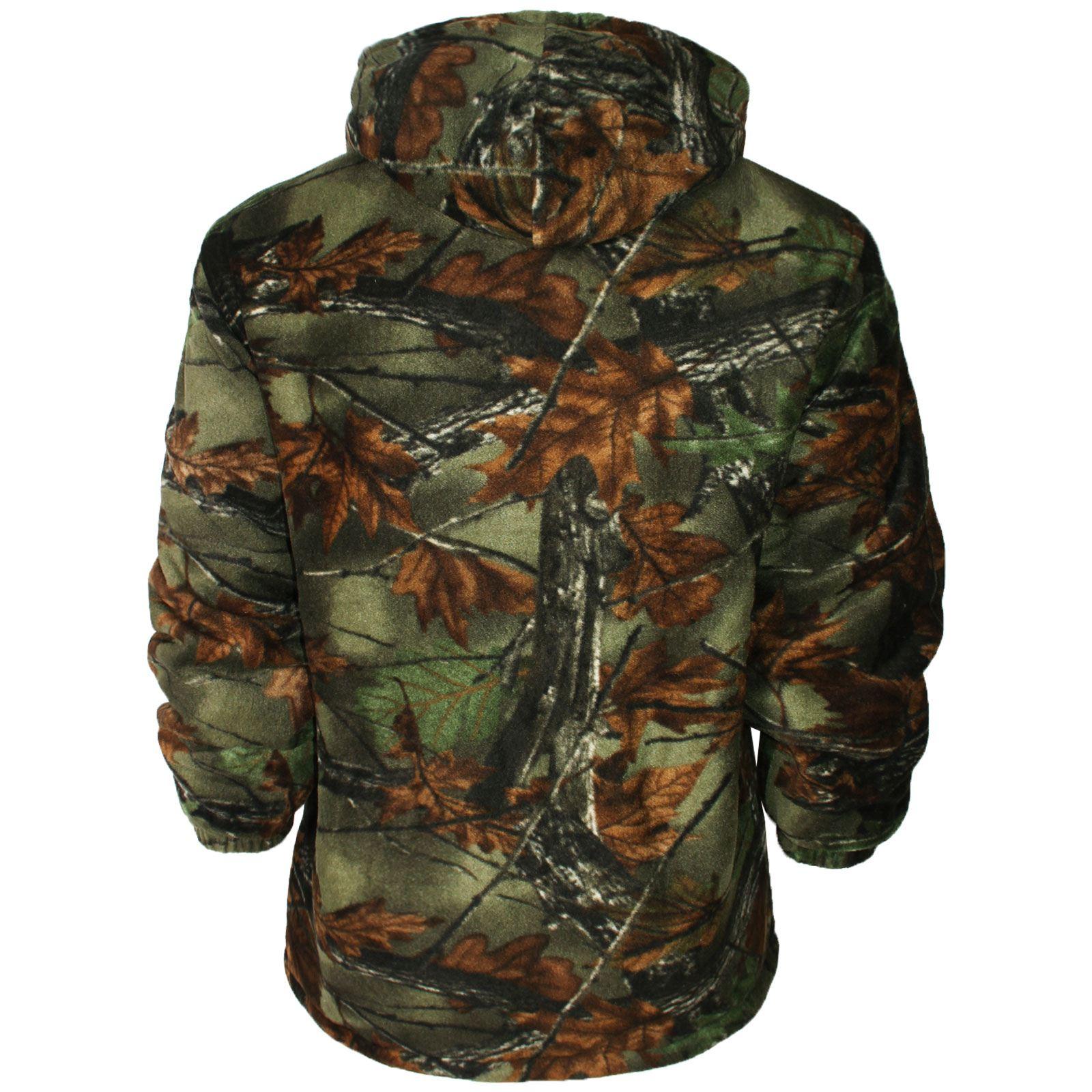 Para-hombres-camisa-de-piel-de-lana-forrada-Lumber-Jack-Acolchado-Sherpa-Sudadera-Con-Capucha-Gruesa miniatura 22