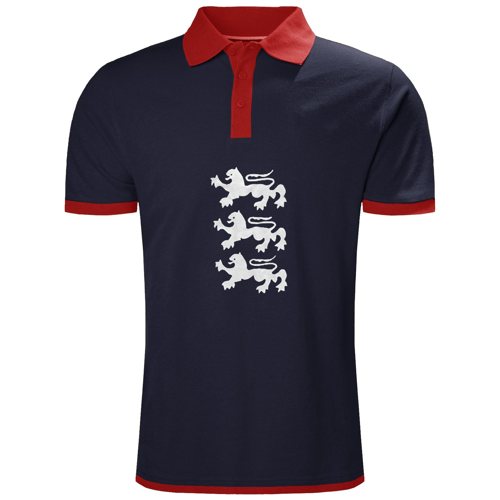 MENS-ENGLAND-TOP-POLO-T-SHIRTS-SHORT-SLEEVE-SPORTS-CRICKET-FOOTBALL-GOLF-TEES thumbnail 5