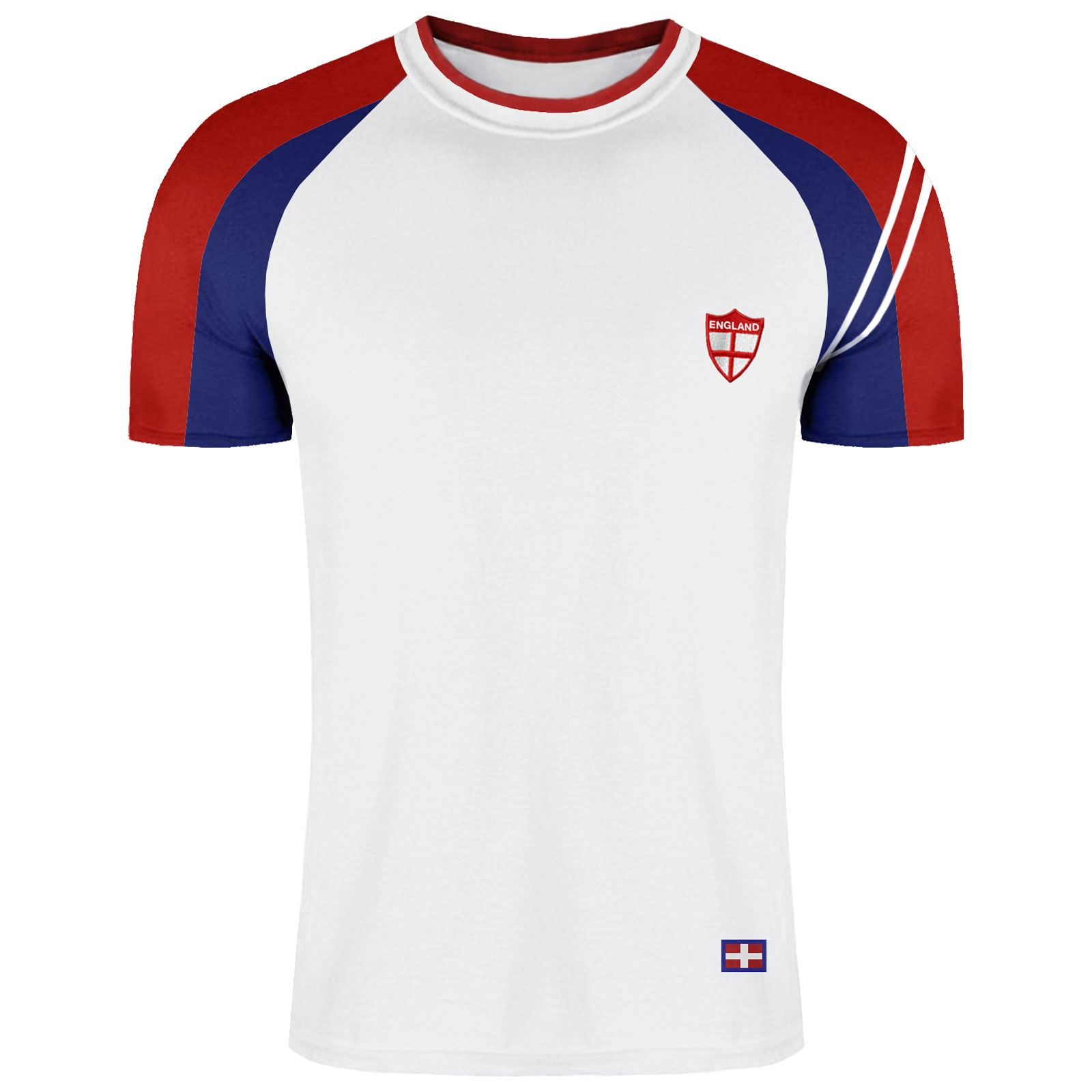MENS-ENGLAND-TOP-POLO-T-SHIRTS-SHORT-SLEEVE-SPORTS-CRICKET-FOOTBALL-GOLF-TEES thumbnail 10