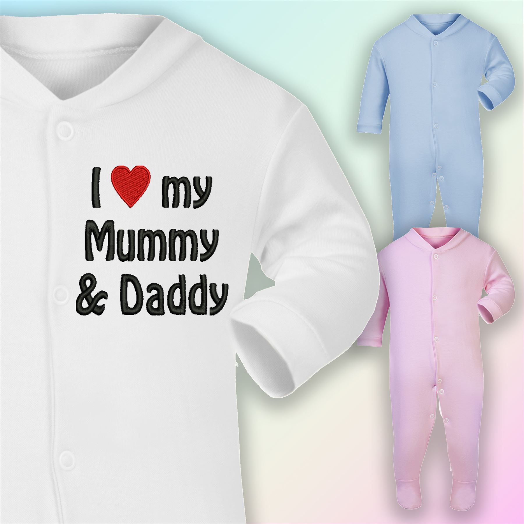 Custom Giftware UK Mummy /& Daddys Miracle Baby//Toddler T Shirt Size 3-6 Months White can be Personalised