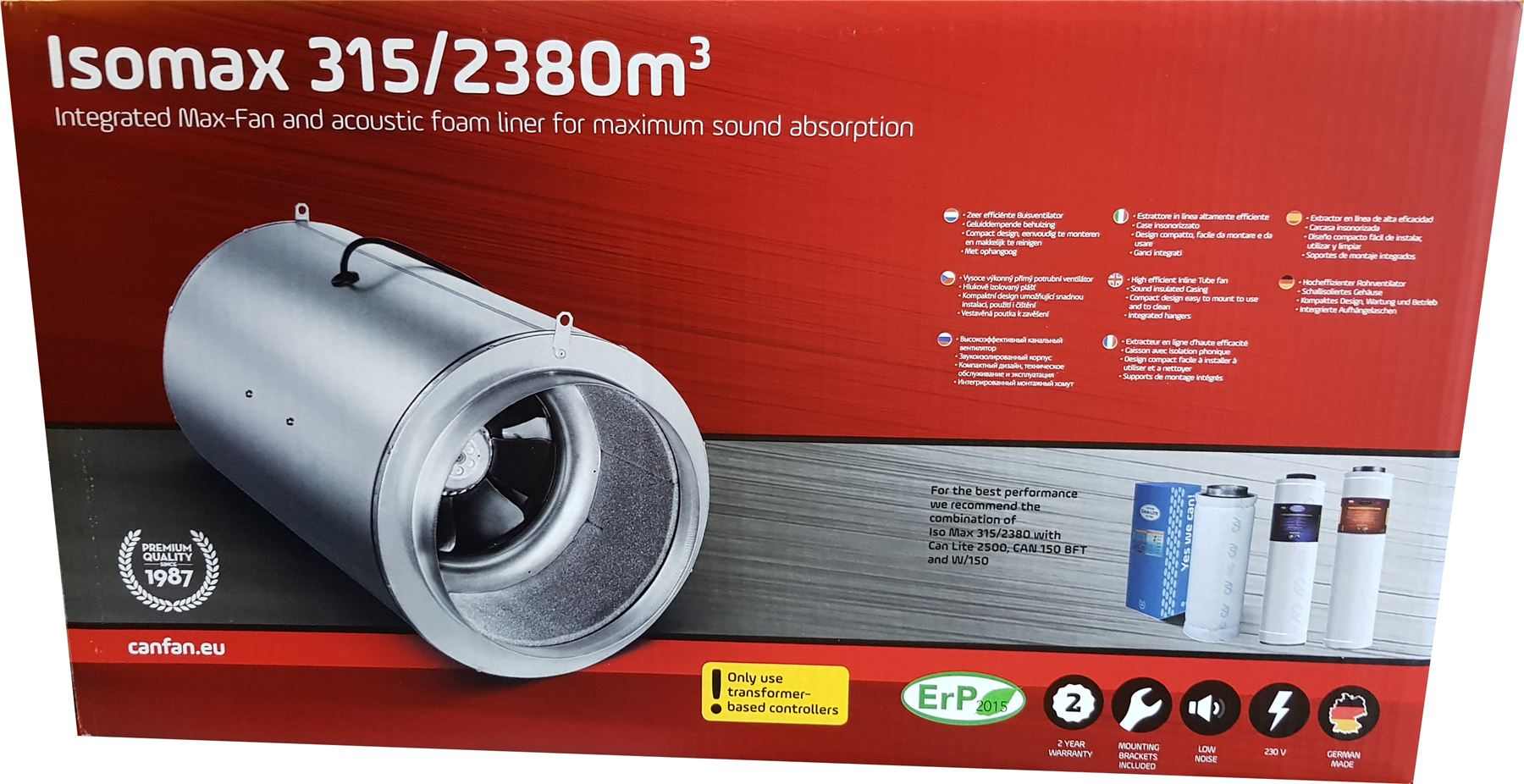 ISO-MAX SUPER silencieux d'échappeHommes t conduits fans fans fans - 6