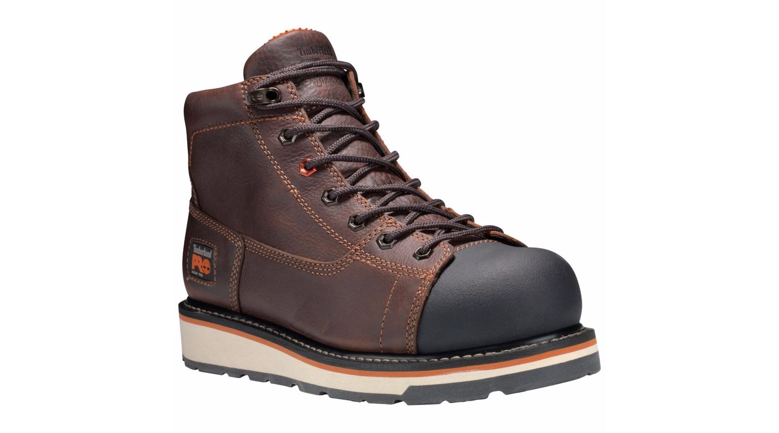 Timberland Pro Boots Mens Gridworks 6 Quot Alloy Toe Brown