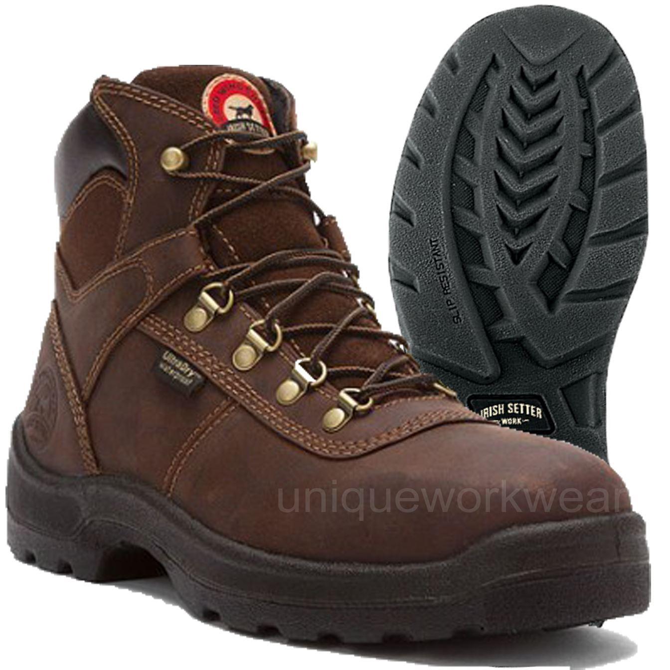 Irish Setter 6 Steel Toe Boots Irish Setter Mens 6&qu...