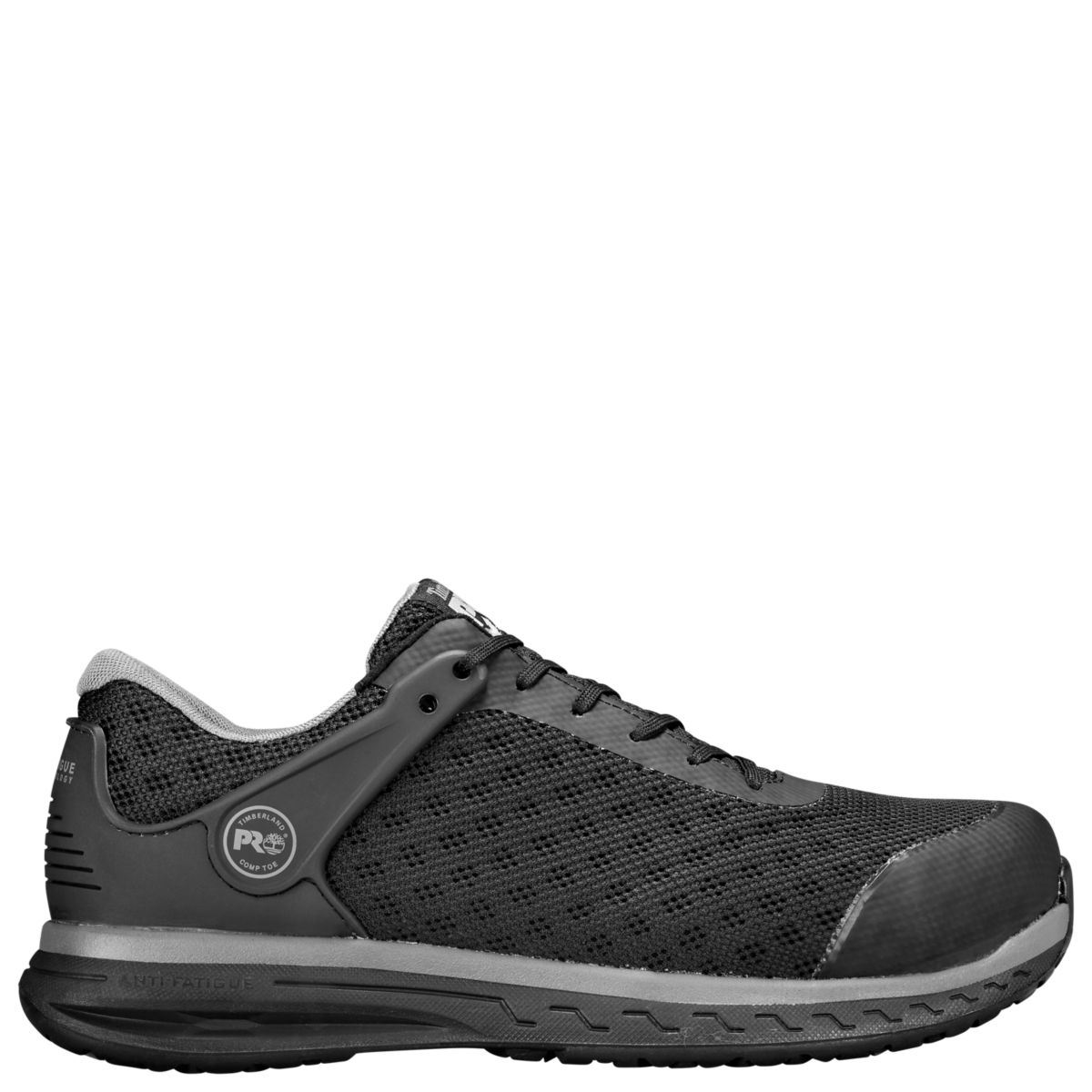 Timberland Pro Mens Drivetrain Composite Safety Toe Black Work Shoes