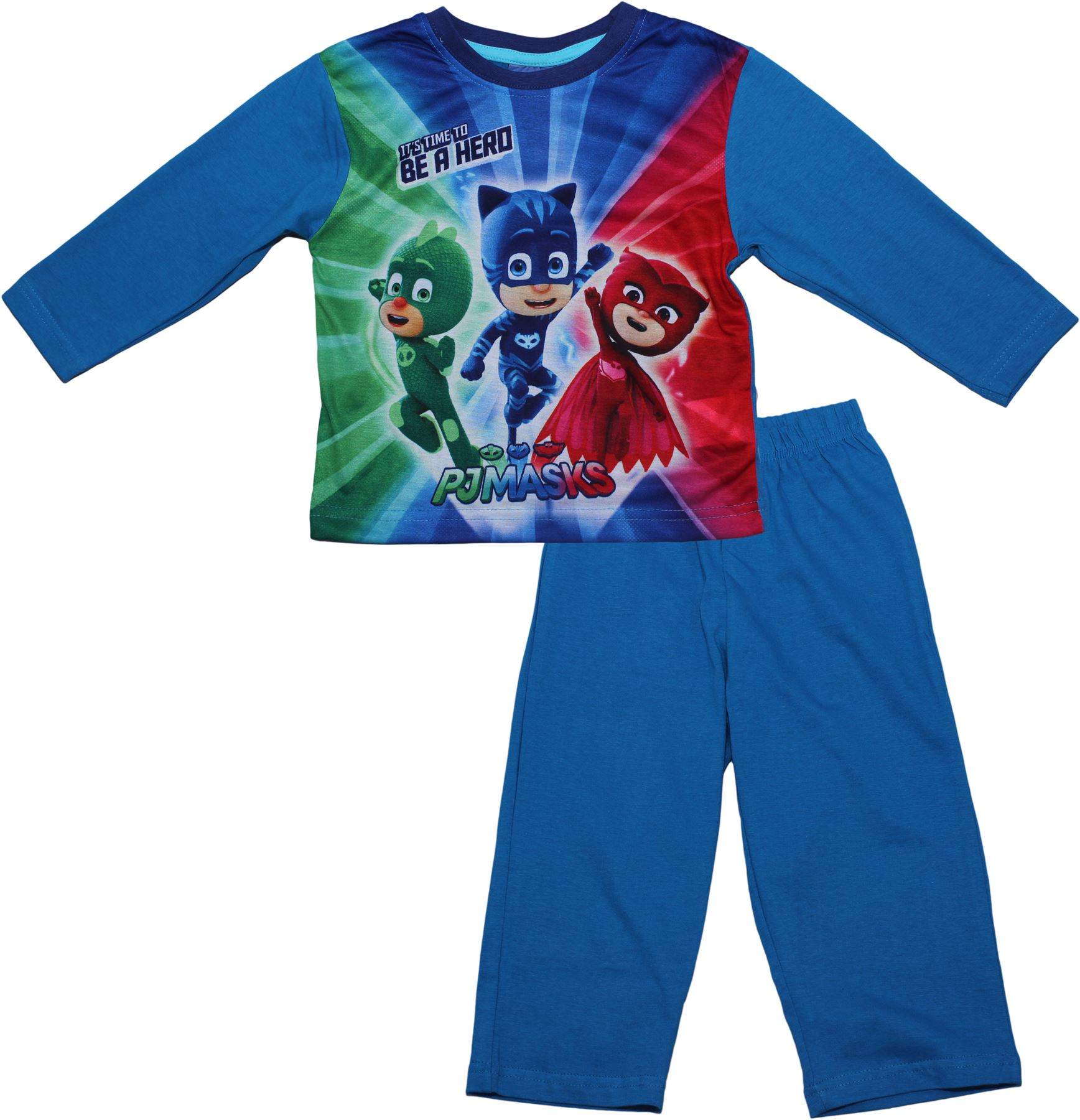 02191805 PJ Masks Children's Boys Time To Be A Hero Long Sleeve Pyjama Set New  2017-2018