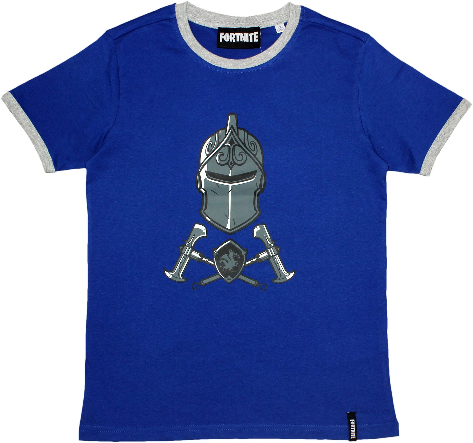 Epic Games Fortnite Boys Teenagers Logo Black Knight Short Sleeve T Shirt