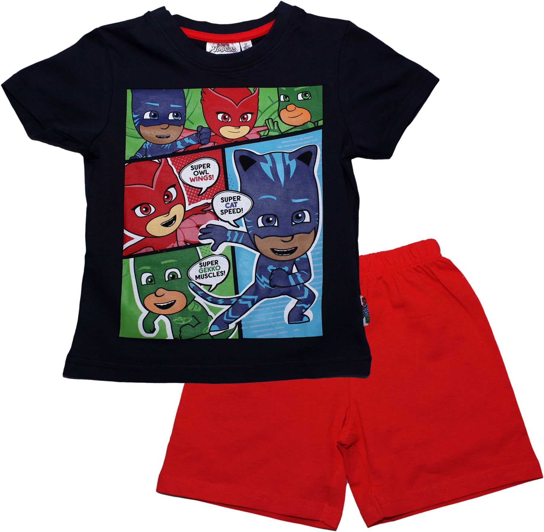 PJ Masks Childrens Boys Time To Be A Hero Long Sleeve