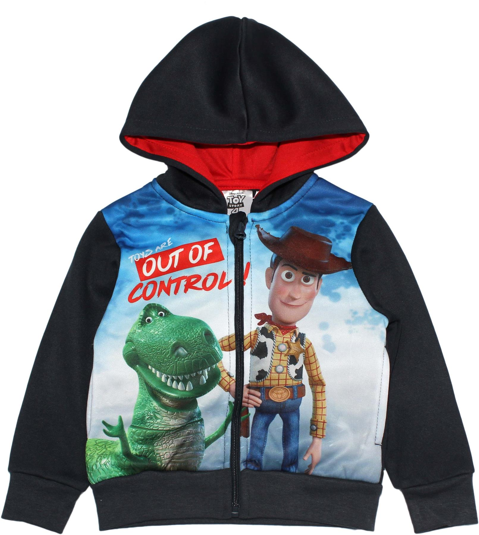 New Toy Story Buzz Lightyear Jacket Hooded Sweatshirt Casual Coat Zipper Hoodie