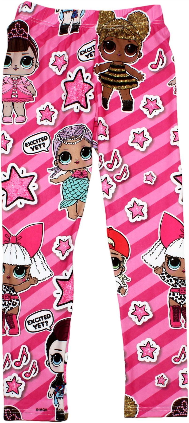 Lol Surprise Doll Girls Kids Leggings Pants Ebay