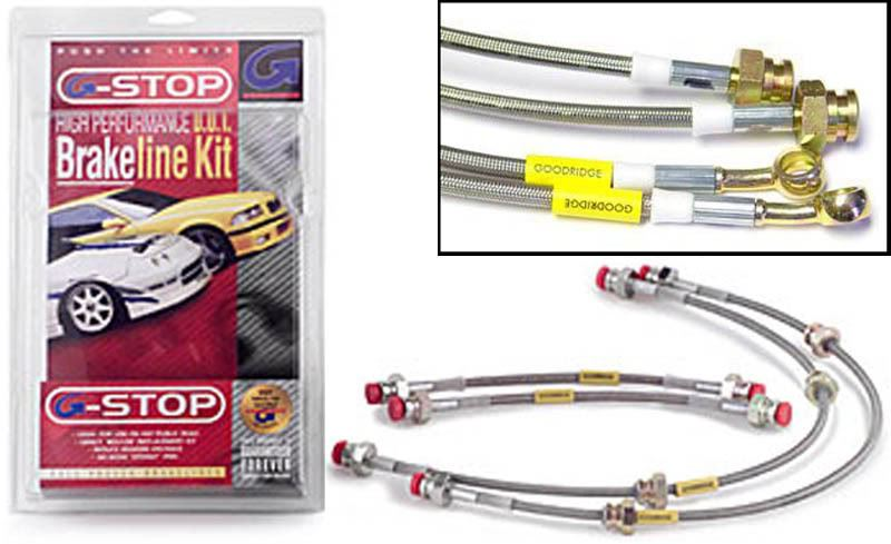 Goodridge CLG Braided Brake Hoses fit Triumph Herald Drums All Round
