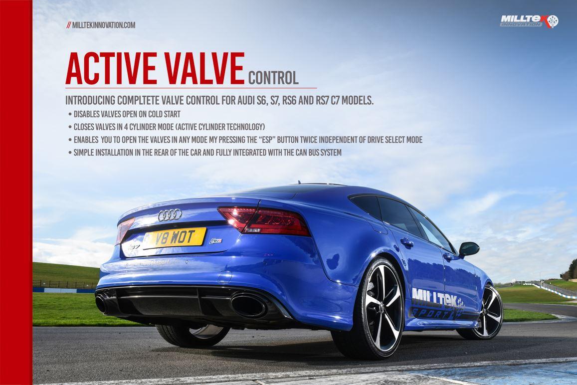 Details about MILLTEK EXH FOR Audi S5 3 0 V6 T Cpe/Cab B9 17>18 Active  Valve Control