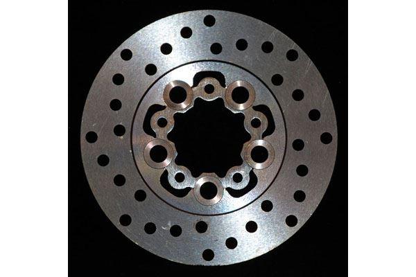 HONDA TRX 680 FA6//FA7//FA8//FA9 Rubicon 06-14 Rear Brake Disc Rotor /& Pads