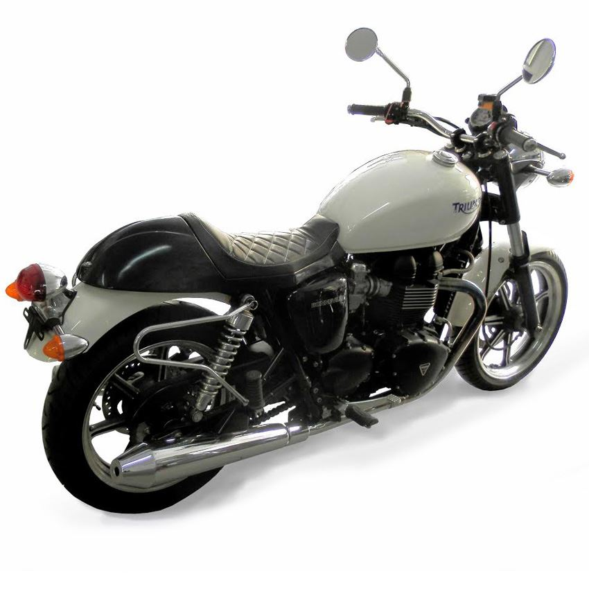 Triumph T100 Bonneville Cafe Racer Brown Motorbike Seat