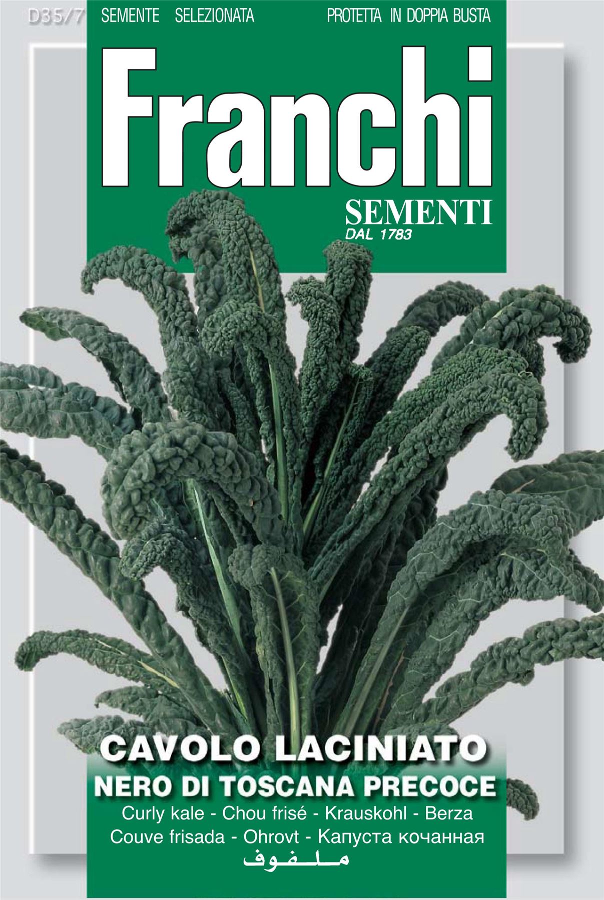 400 graines Johnsons graines-paquet pictural-légumes-chou frisé nero di toscana