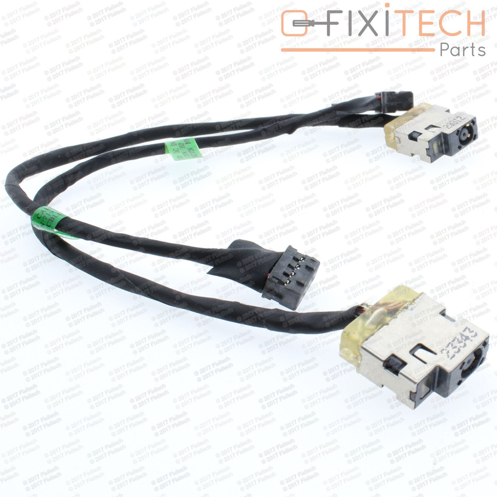 HP ENVYSmart 15-J053CL Power Jack DC IN Cable 10-Pin Harness 9 Wire