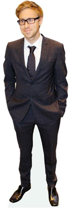 Russell-Howard-Cardboard-Cutout-lifesize-OR-mini-size-Standee-Stand-Up