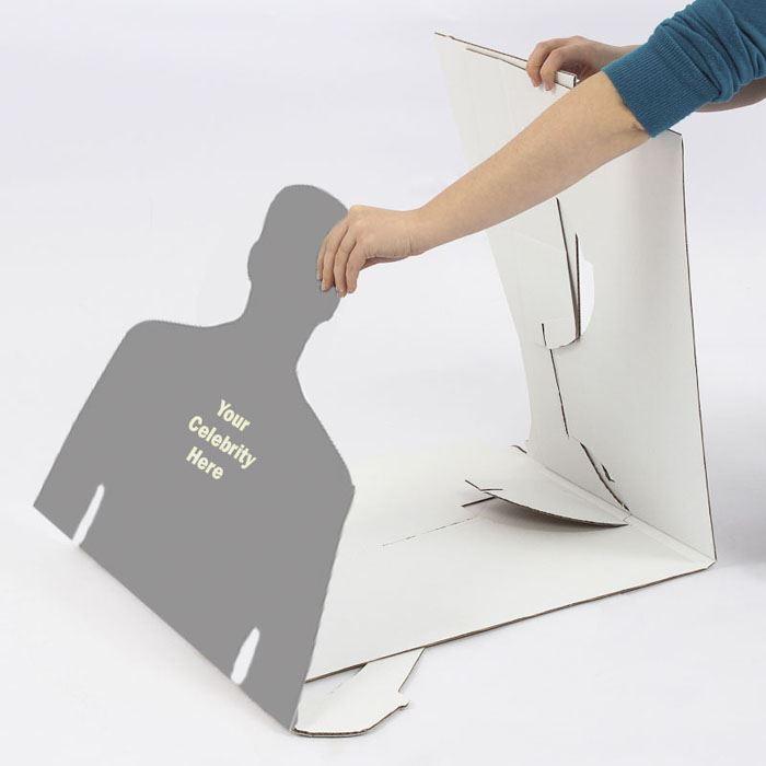 Channing-Tatum-Grey-Suit-Silhouette-carton-grandeur-nature-ou-taille-mini