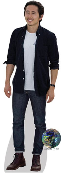 Steve-Yeun-Cardboard-Cutout-lifesize-OR-mini-size-Standee-Stand-Up