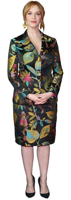 Christina-Hendricks-Silhouette-carton-grandeur-nature-ou-taille-mini