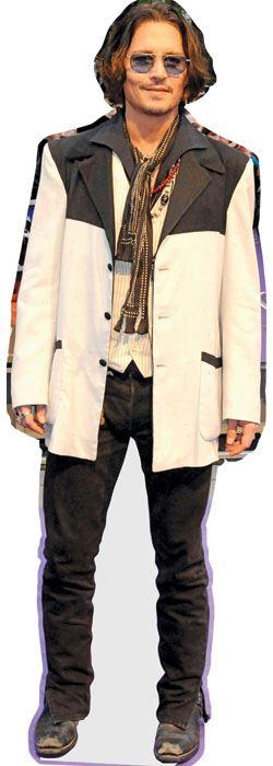 Johnny-Depp-White-Jacket-Figura-de-carton-en-tamano-natural-o-reducido