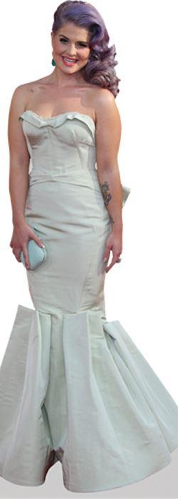 Kelly Osbourne White Dress Cardboard Cutout Lifesize OR