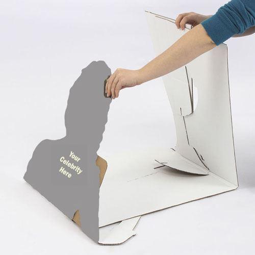 Kim-Kardashian-Boots-Silhouette-carton-grandeur-nature-ou-taille-mini
