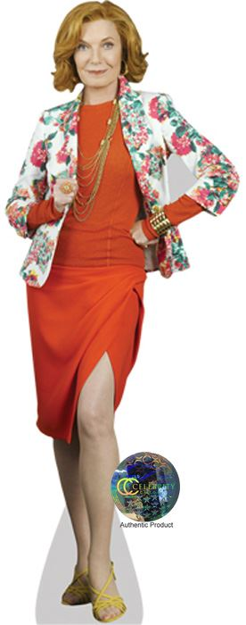 Susan-Sullivan-Floral-Cardboard-Cutout-lifesize-mini-size-Standee-Stand-Up