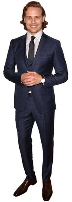 Sam-Heughan-Cardboard-Cutout-lifesize-OR-mini-size-Standee-Stand-Up