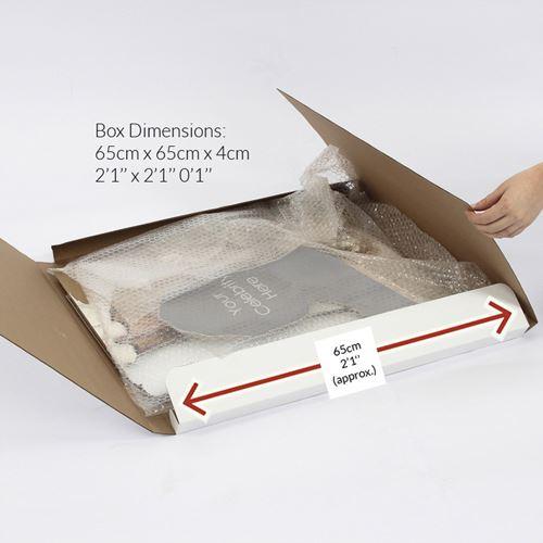 Lucy-Spraggan-Black-Jacket-Silhouette-carton-grandeur-nature-ou-taille-mini