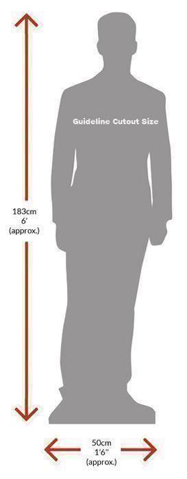 Neil-Diamond-Silhouette-carton-grandeur-nature-ou-taille-mini