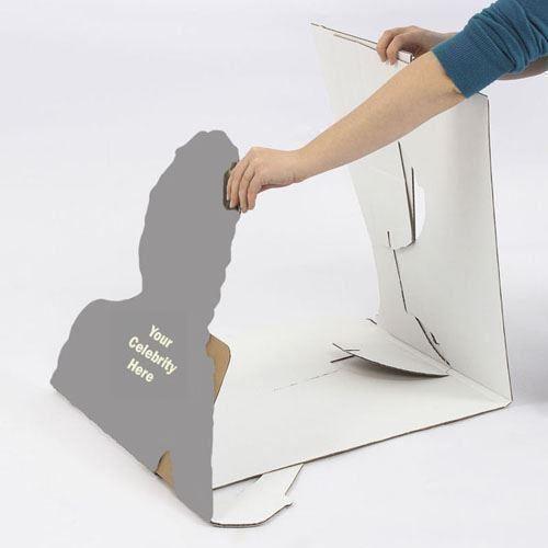 Gillian-McKeith-Silhouette-carton-grandeur-nature-ou-taille-mini