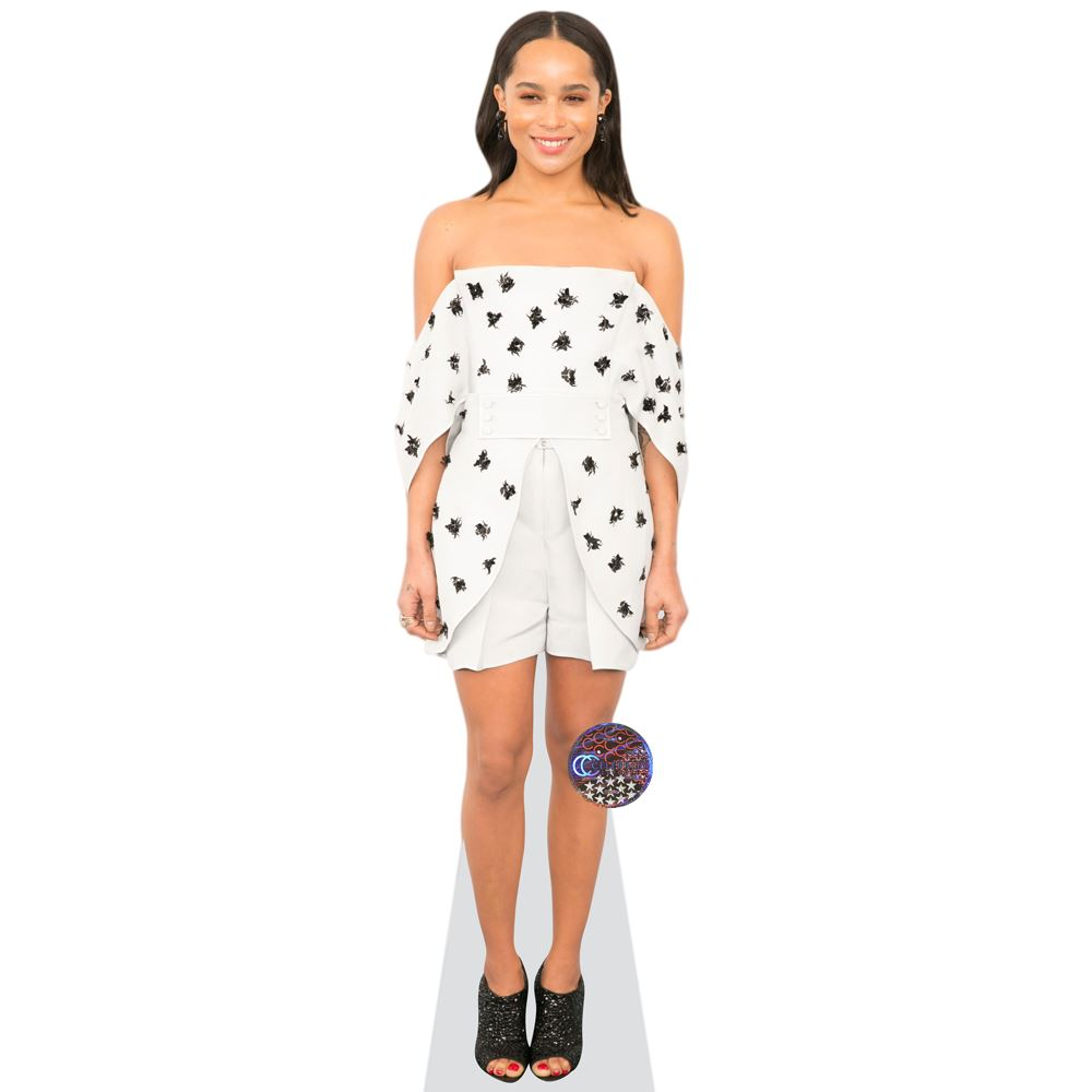 Zoe-Kravitz-Shorts-Cardboard-Cutout-lifesize-OR-mini-size-Standee