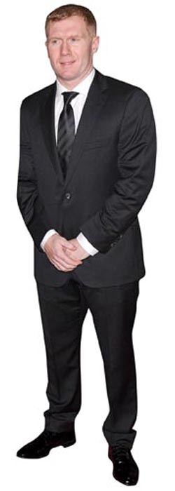 Paul-Scholes-Cardboard-Cutout-lifesize-OR-mini-size-Standee-Stand-Up