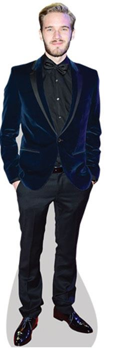 PewDiePie-Cardboard-Cutout-lifesize-OR-mini-size-Standee-Stand-Up